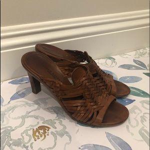 Ralph Lauren Brown Sandals In Size 7